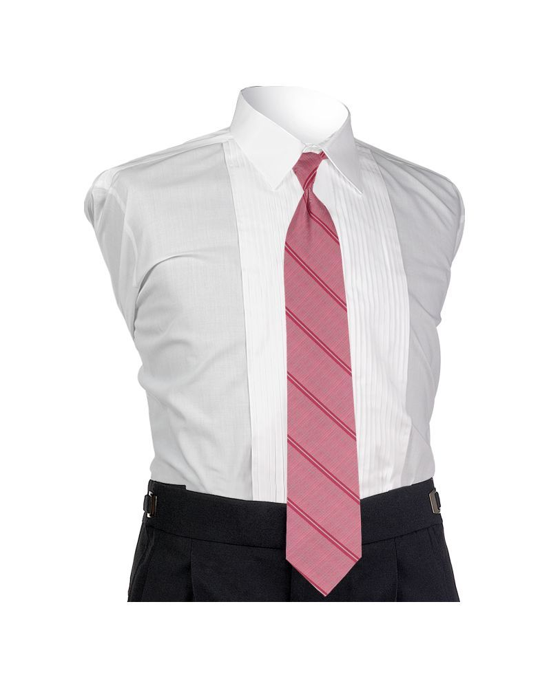 Carino Bubble Gum Four-in-hand Tie