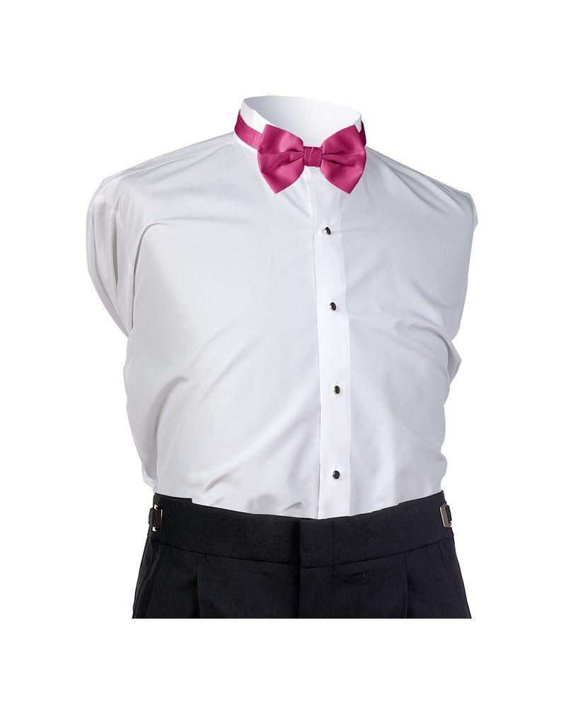 Fuchsia Satin Bow tie