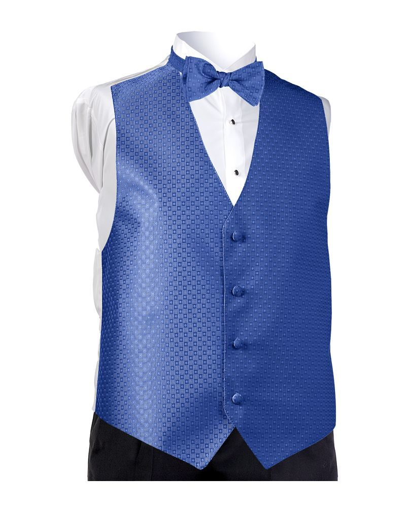 Royal Blue Perfect Vest