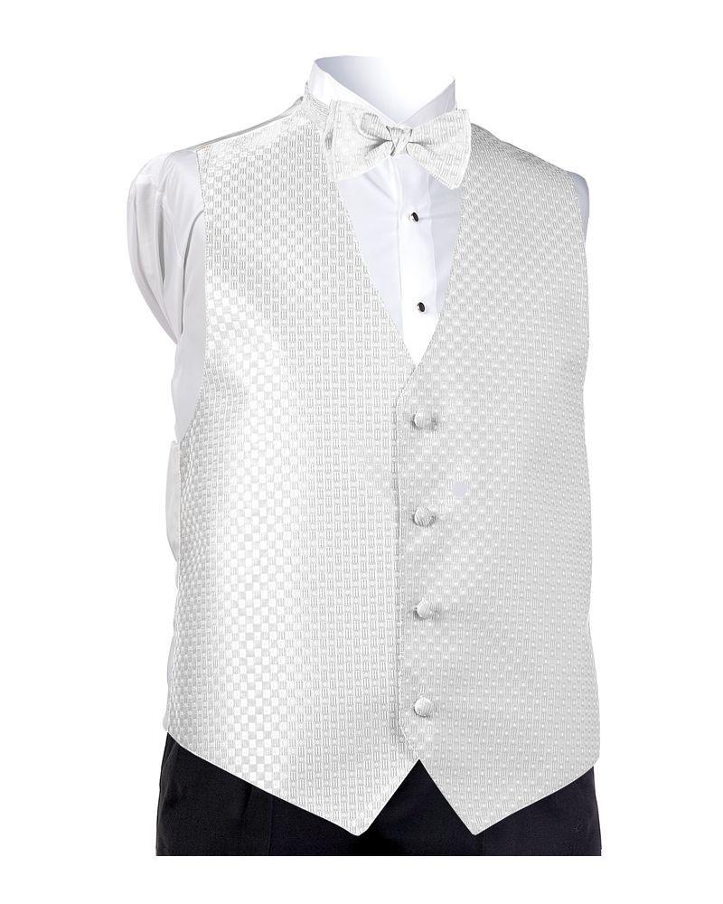 White Perfect Vest