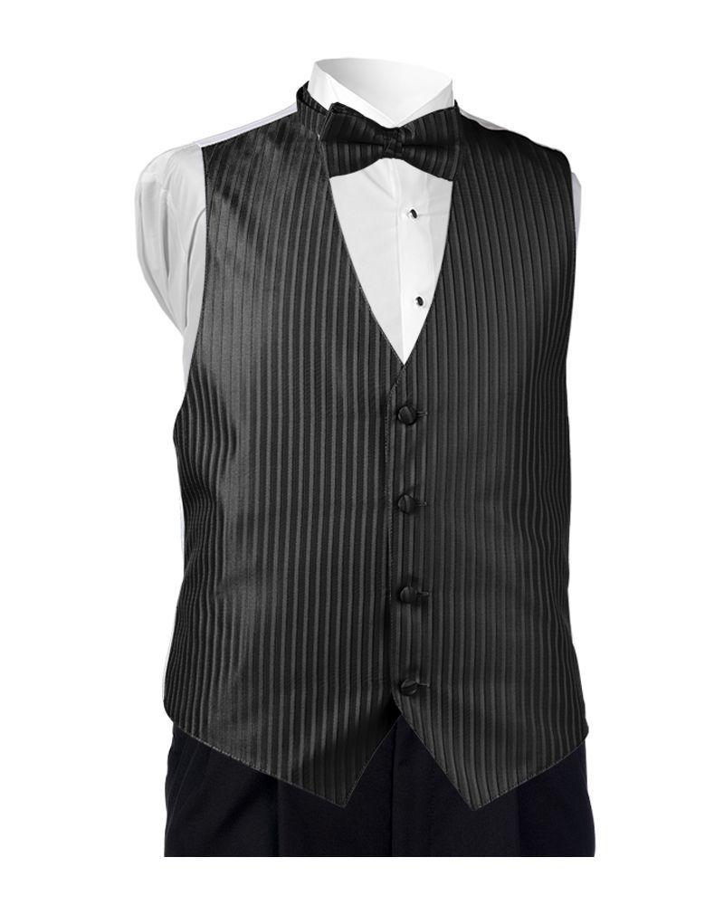 Black Lido Vest