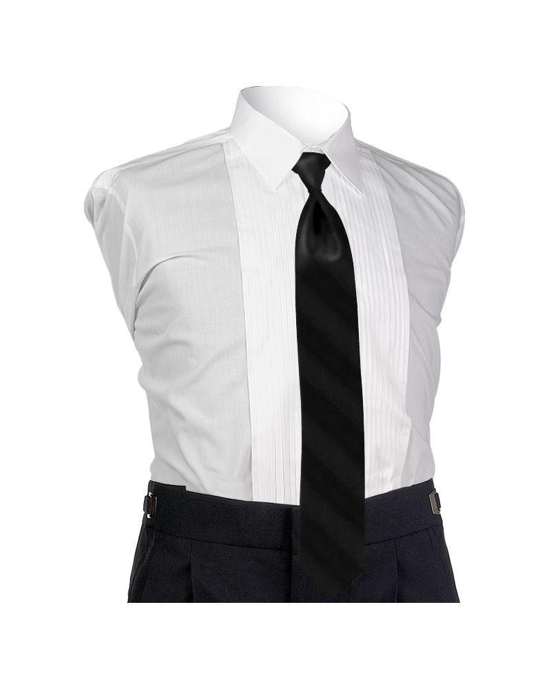 Ombre Black 4-in-hand Tie