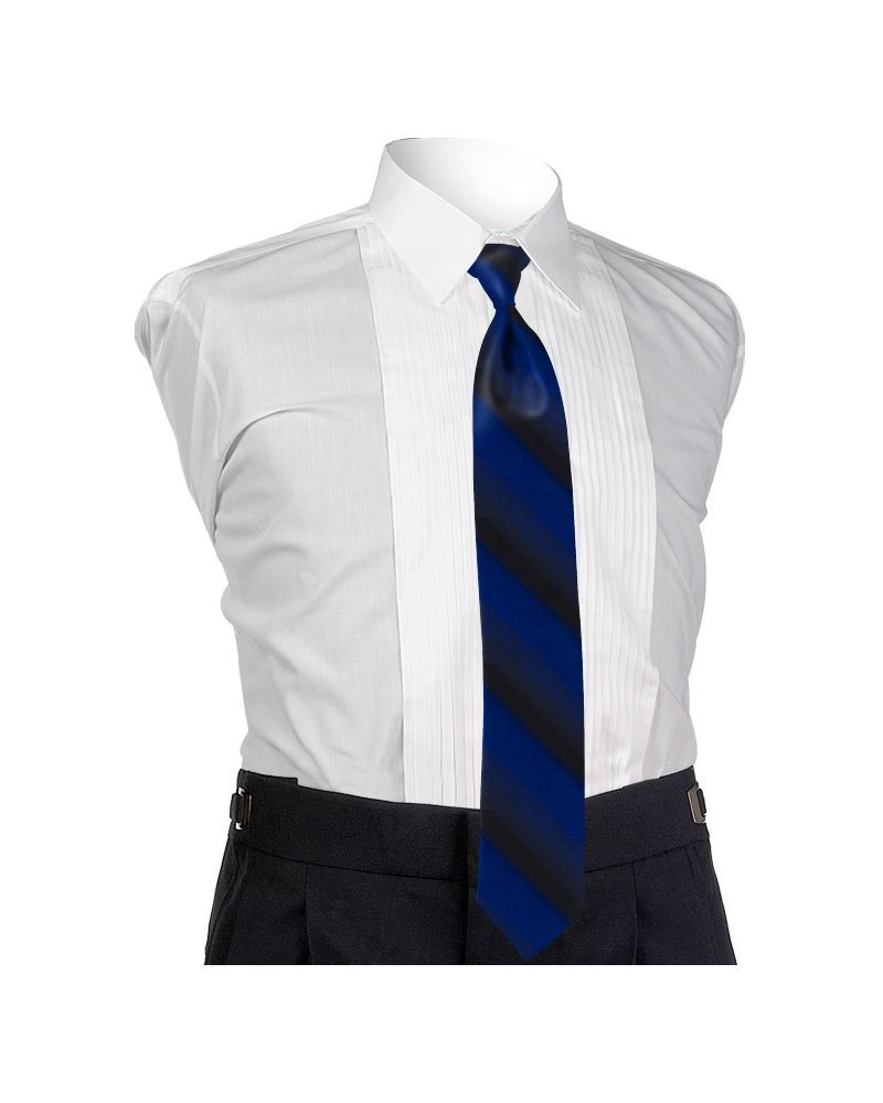 Ombre Royal Blue 4-in-hand Tie