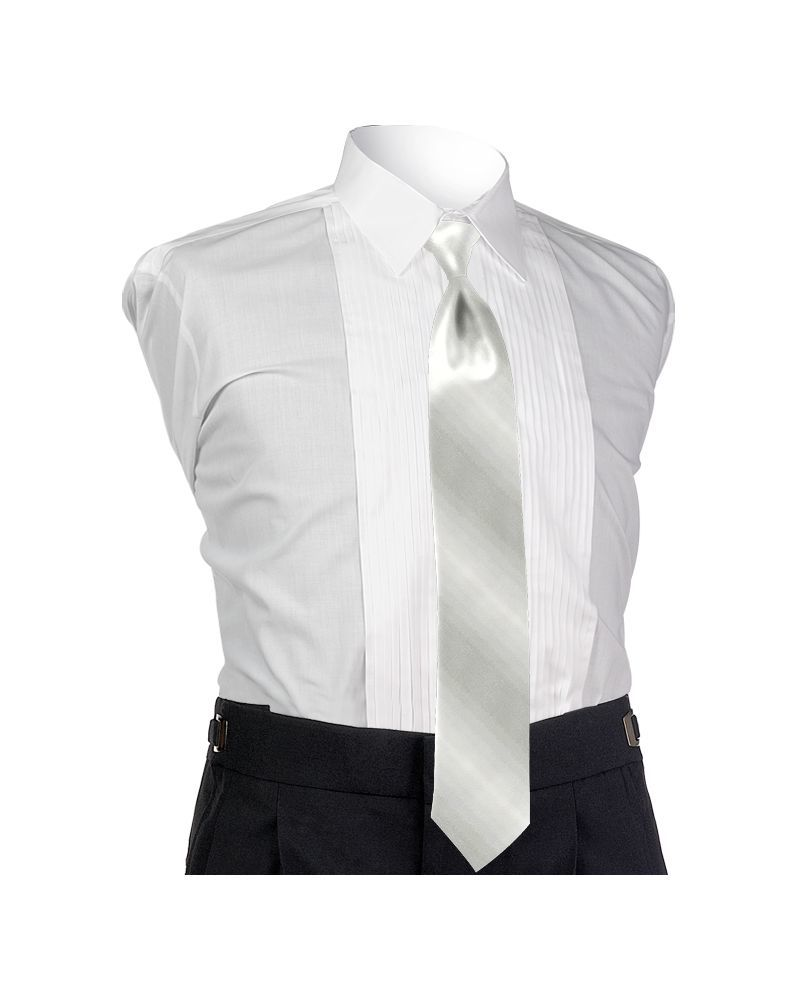 Ombre Ivory 4-in-hand Tie