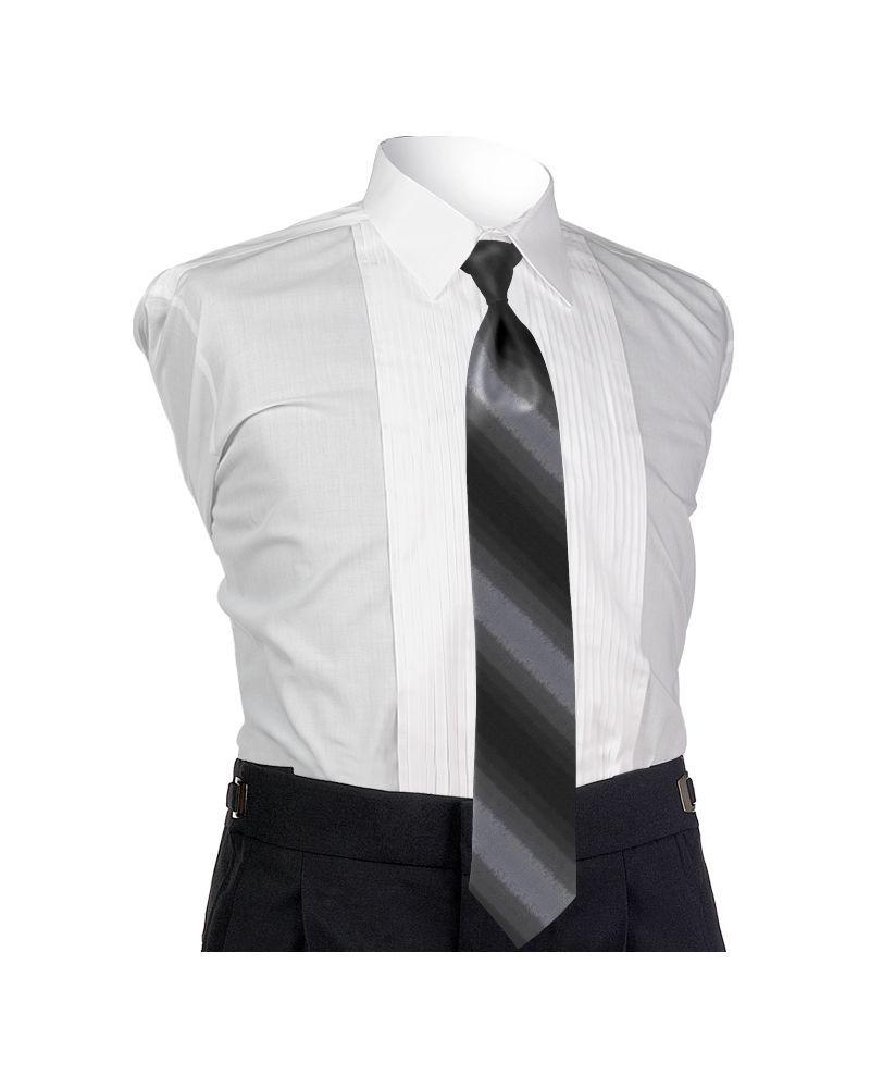 Ombre Platinum 4-in-hand Tie