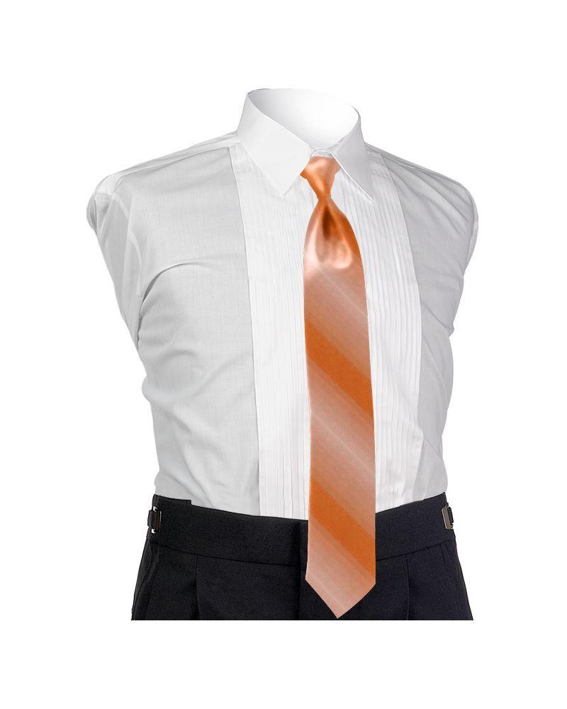 Ombre Peach 4-in-hand Tie