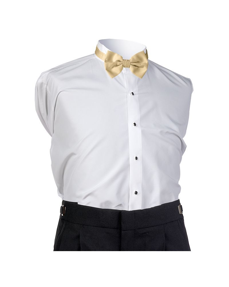 Midas Gold Satin Bow tie