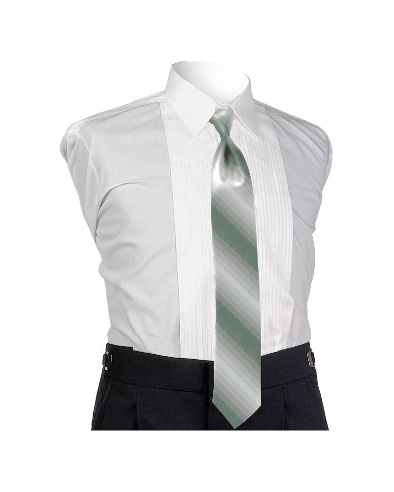 Ombre Sage 4-in-hand Tie