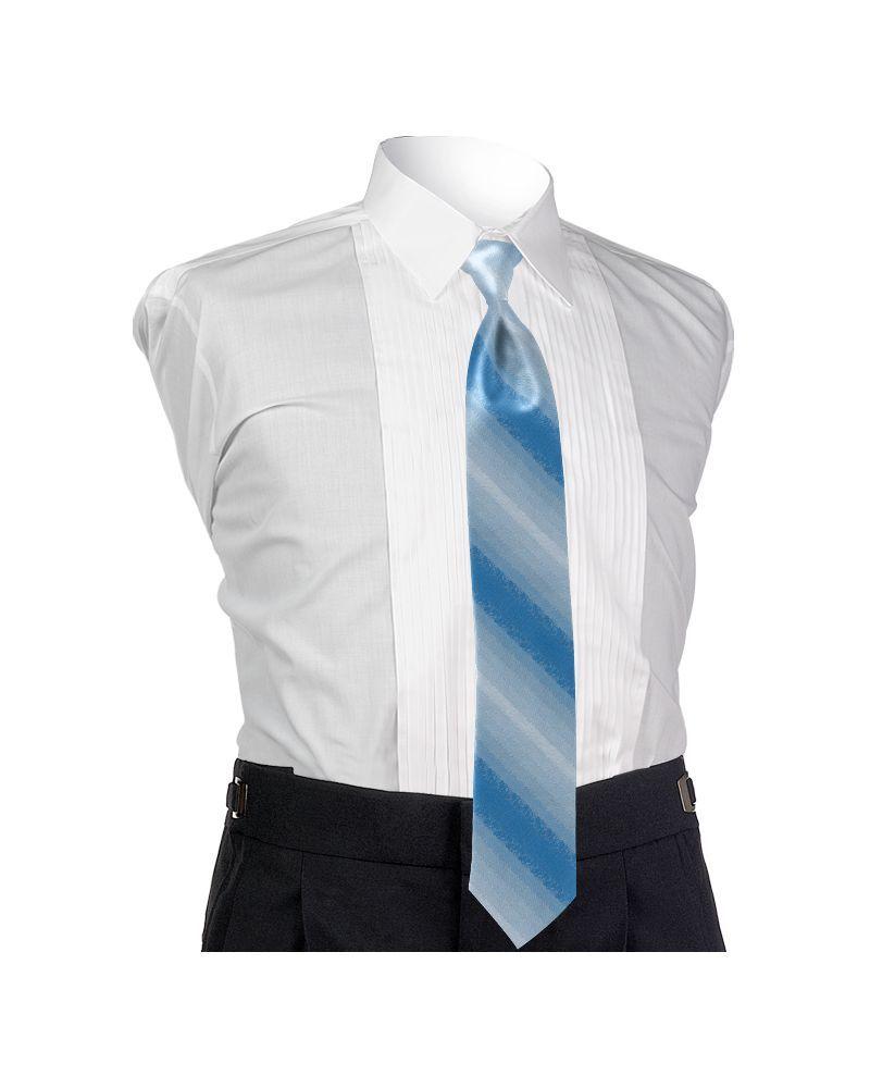 Ombre Sky Blue 4-in-hand Tie
