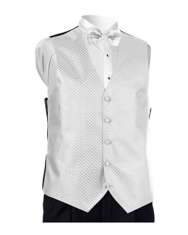 White Carino Vest