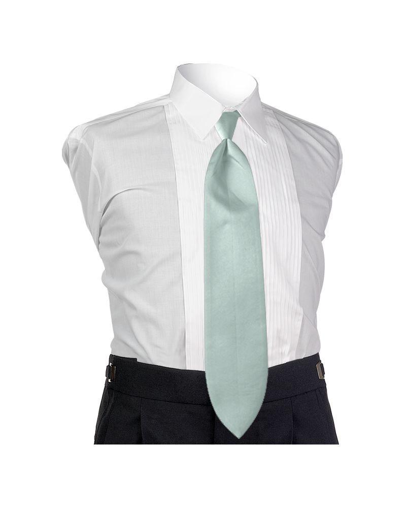 Satin Seafoam 4-in-hand Tie