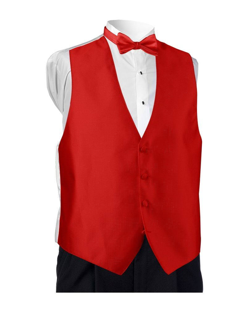 Fire Red Bel Aire Vest