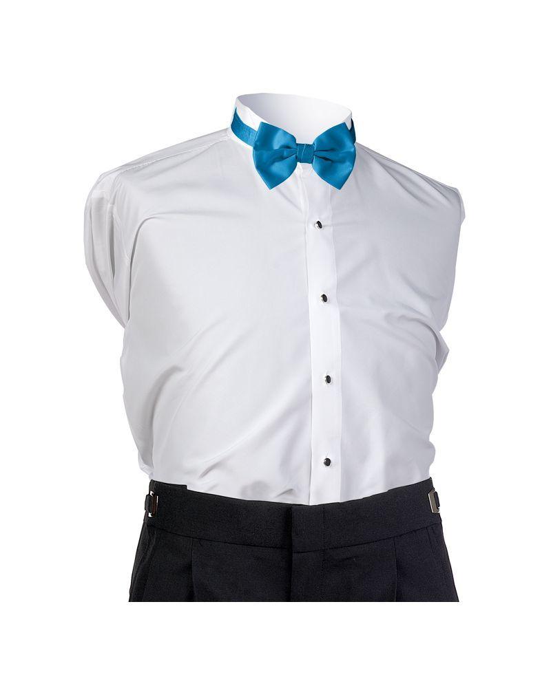 Turquoise Satin Bow tie
