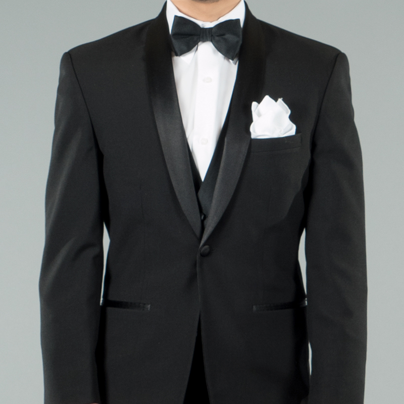 David Tutera Black Label Slim Fit Shawl