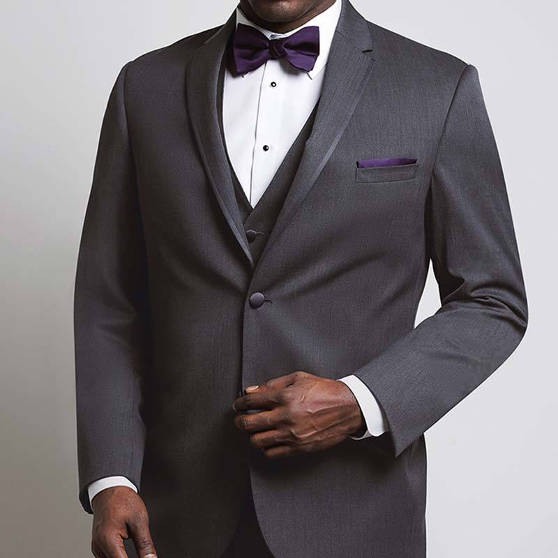 Michael Kors Charcoal Notch Tuxedo Rental
