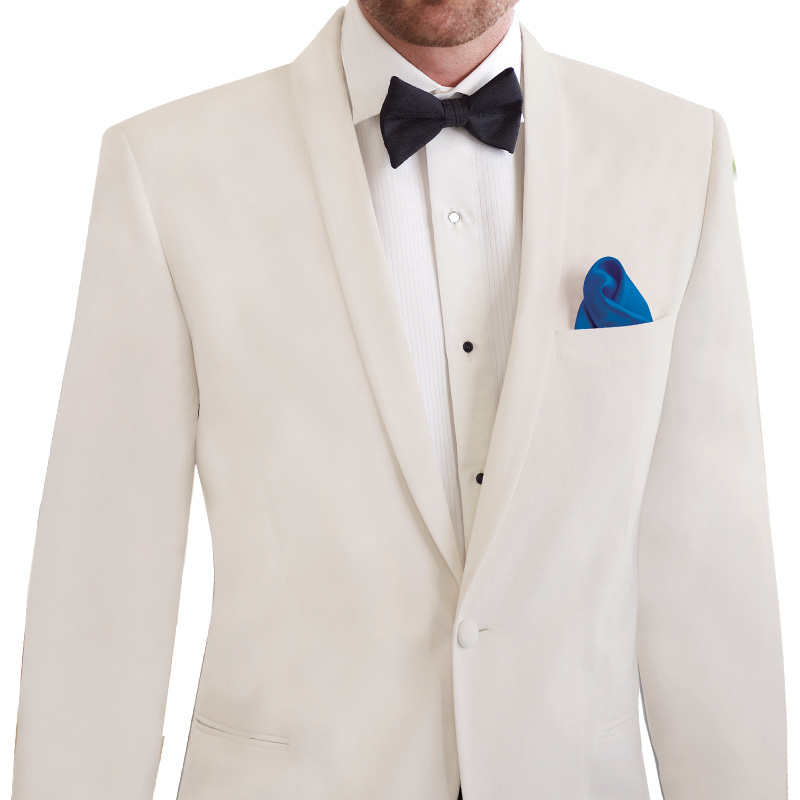David Tutera Diamond White Slim Fit Shawl Tuxedo