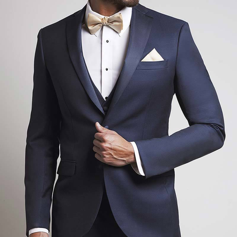 The Xe Faille Ink Blue Notch Tuxedo