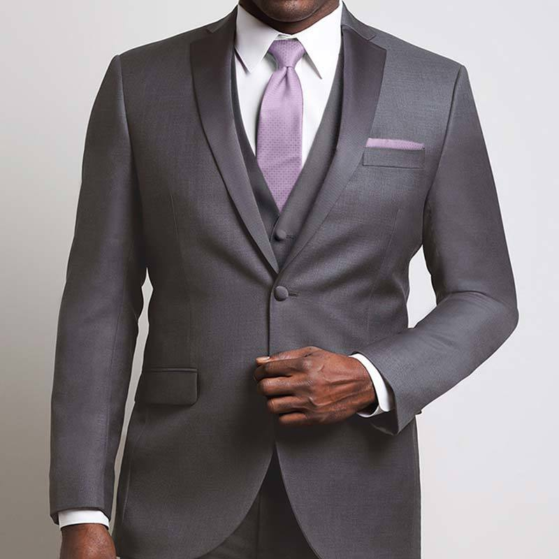 The Xe Faille Steel Gray Notch Tuxedo