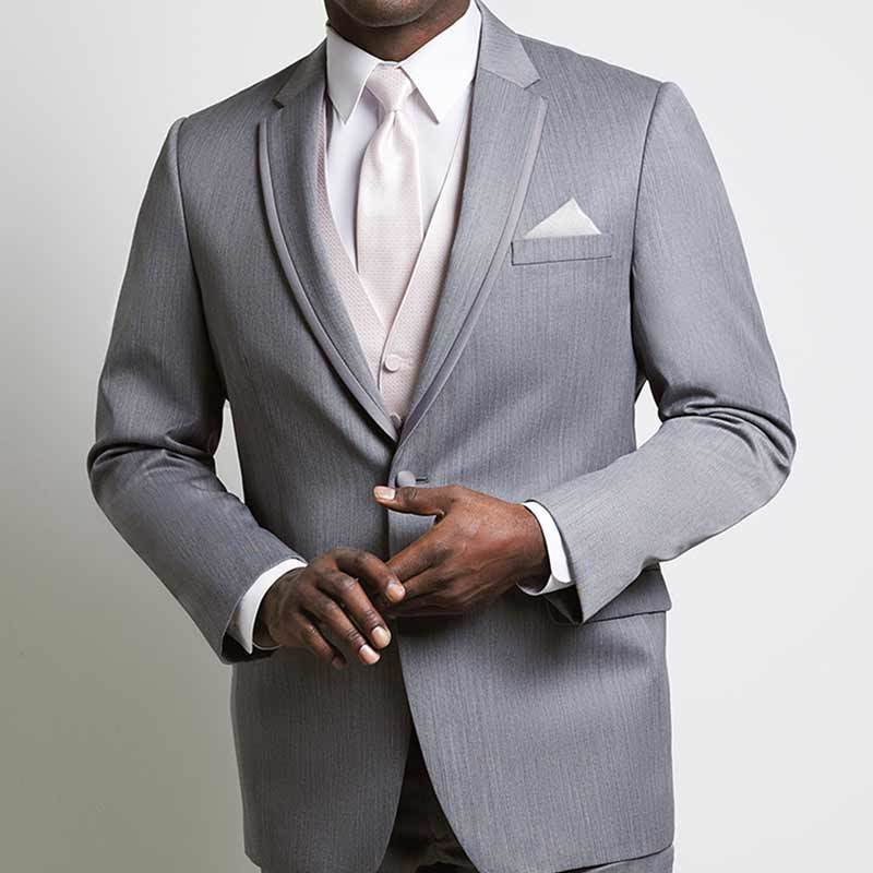 The Xe Gray Notch Tuxedo