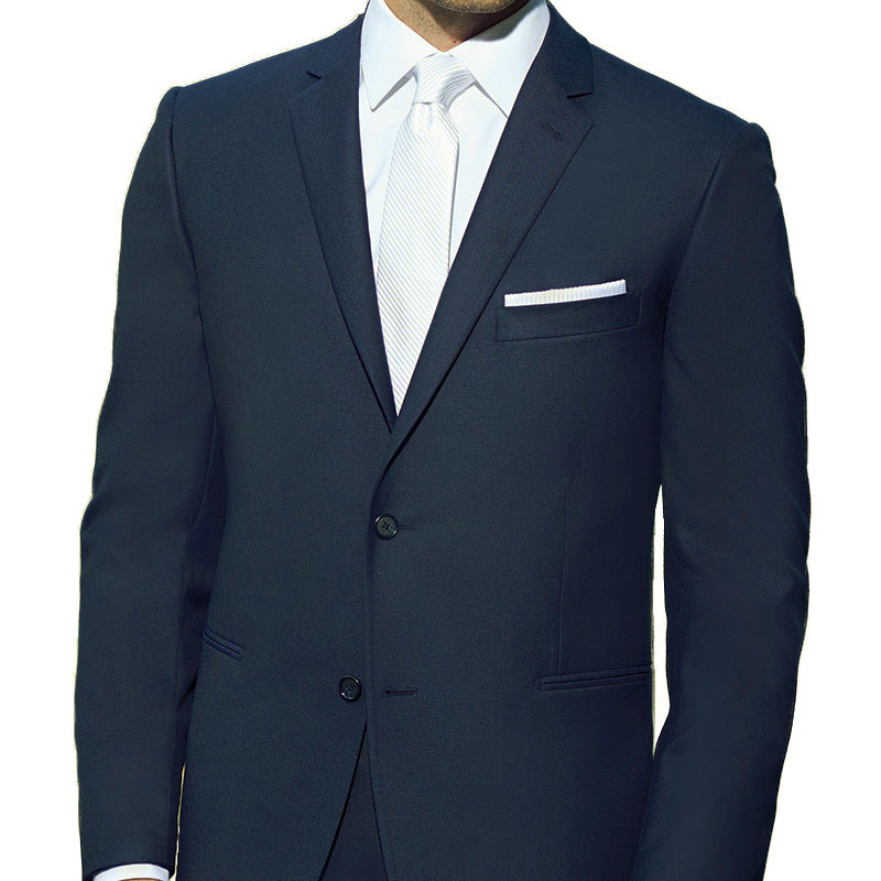 Ike Behar French Blue Notch Suit