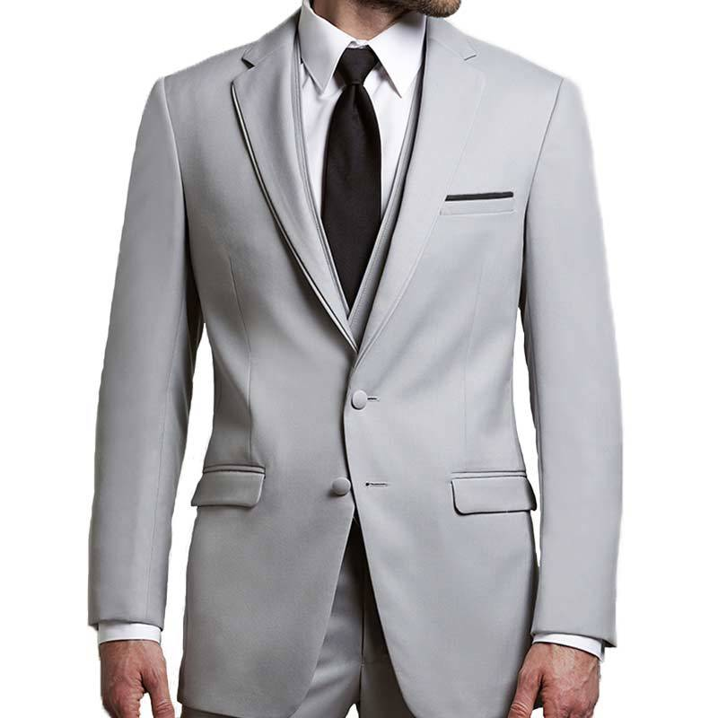 Jean Yves Allure Cement Gray Notch Tuxedo