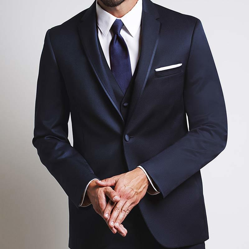 Michael Kors Midnight Blue Notch Tuxedo
