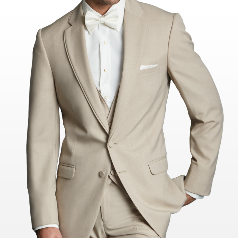 Jean Yves Allure Tan Notch Suit