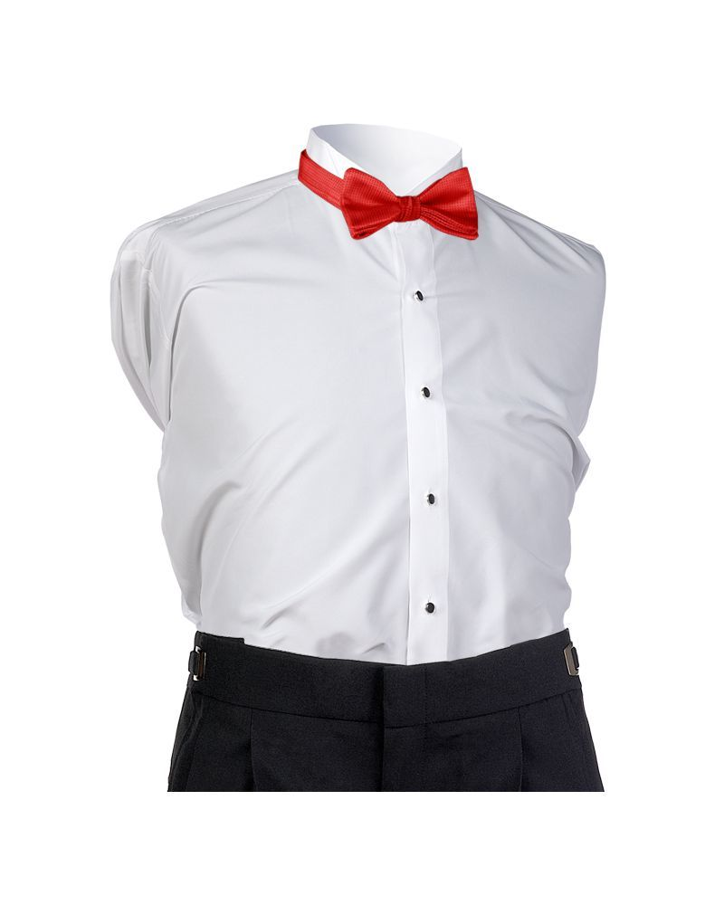 Fire Red Bel Aire Bow Tie